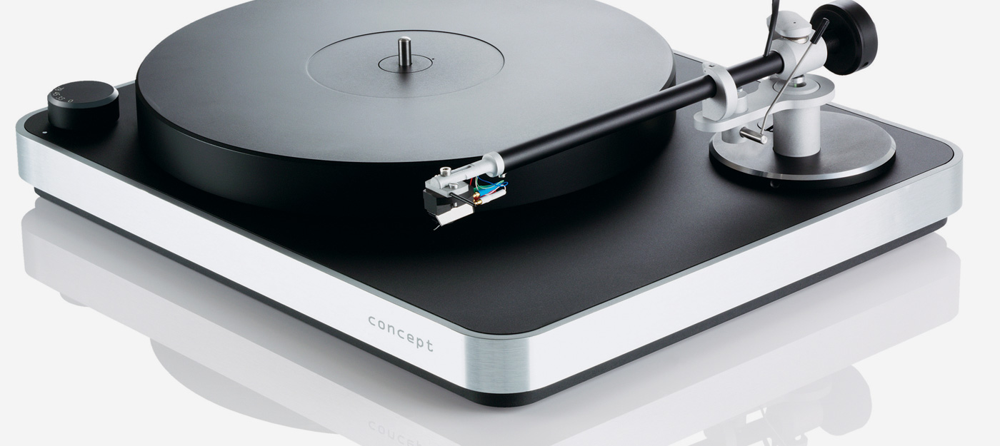 Clearaudio Concept MM Kit skivspelare med tonarm och Concept Pickup ... 99abb5edc9967
