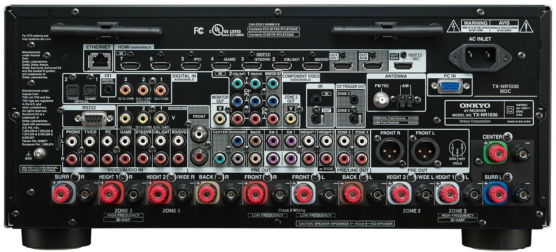 Onkyo Tx Nr 1030 Hembiof 246 Rst 228 Rkare Med Radio 9 2 Kanaler